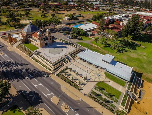 St Francis Xavier Cathedral Precinct Project