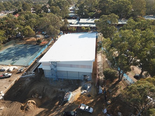 Wanneroo Secondary College New Sports Hall