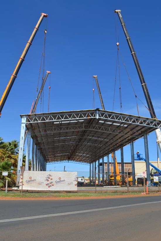 Port Hedland Maintenance Workshop Stage 2