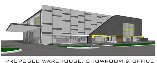 Warehouse / Storage, Bulky Goods Showroom and Office Development, Welshpool